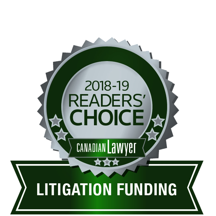 Canadian Lawyer Award for Top Litigation Lender